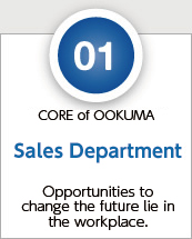 01 PROCESS of OOKUMA Sales department